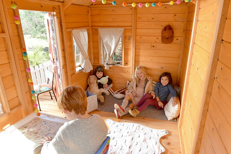 Casitas infantiles de madera para so ar saquitodecanela for Casas de madera infantiles para exterior