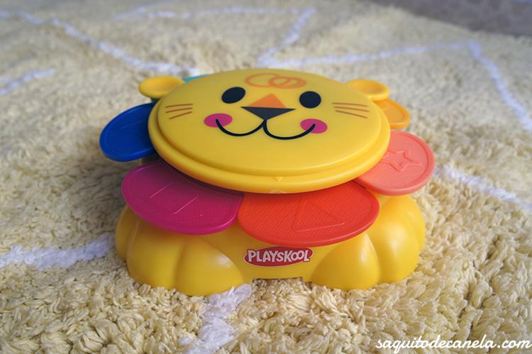 Leoncito cubitos apilables de Playskool