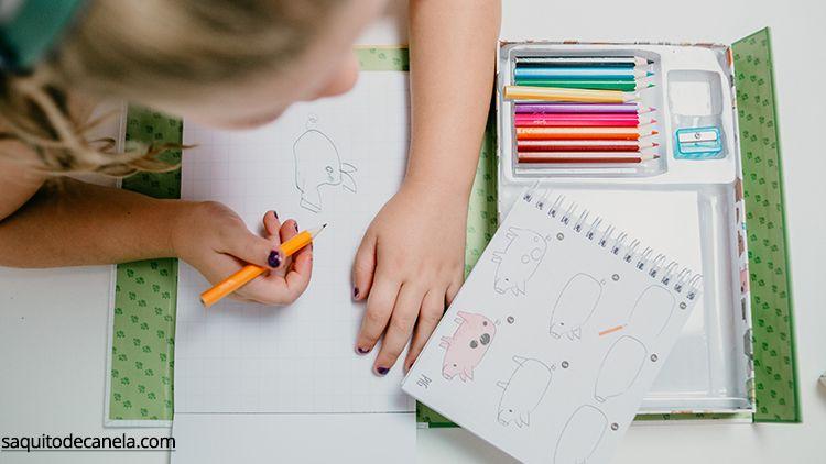 aprender a dibujar niños