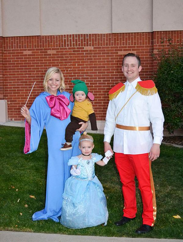 Disfraces de familia para Halloween - Saquitodecanela