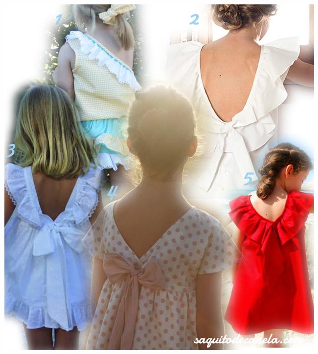vestidos niñas verano