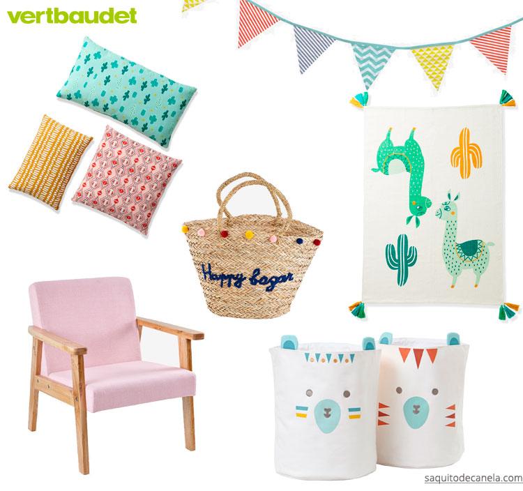 habitaciones de primavera Vertbaudet