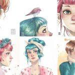 Láminas de Esther Gili, ¡las quiero todas!