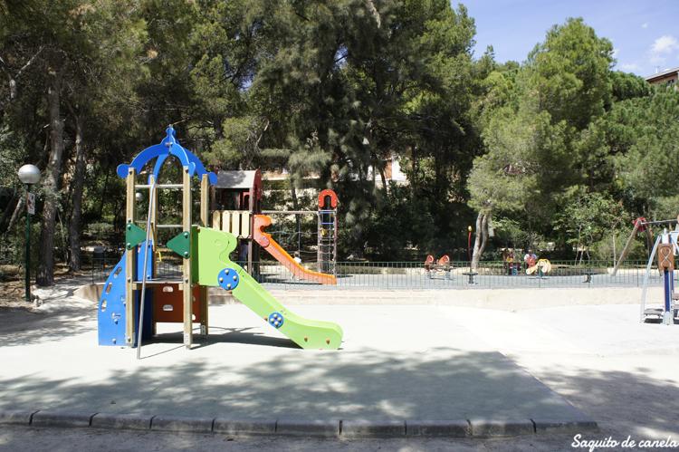 El parque de L'Eixereta de Burjassot