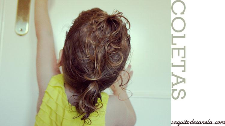 peinados para ninas con pelo rizado