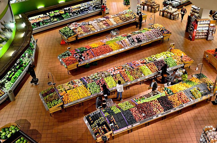 ahorro de los supermercados