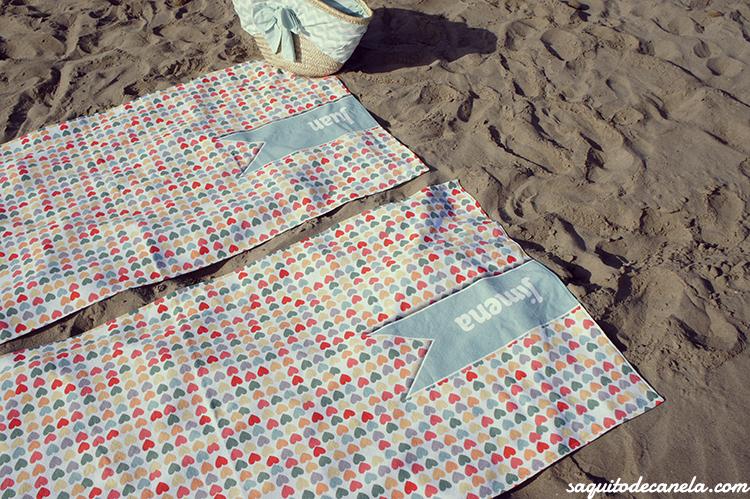 Toallas personalizadas para la playa
