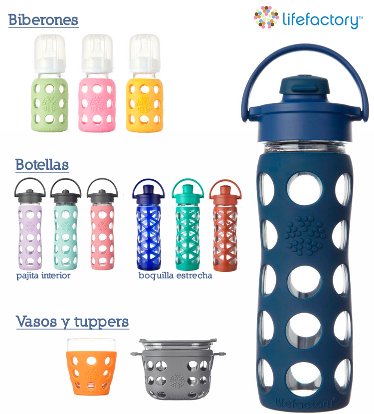 botellas de agua Lifefectory