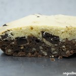 Receta brownie de galleta