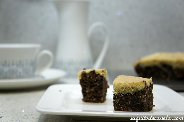 receta Brownie de galleta