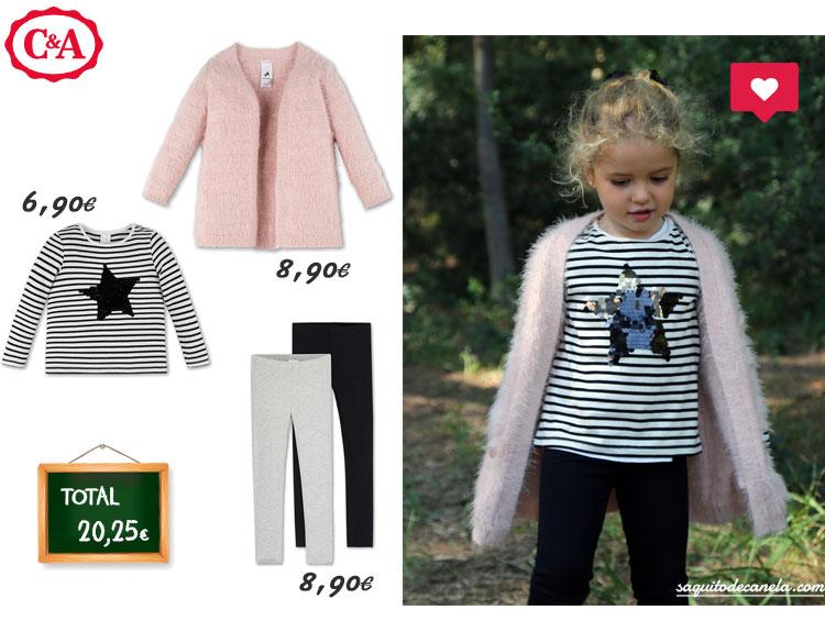 C&A moda infantil