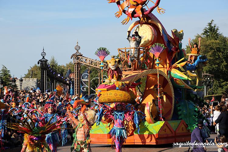 Cabalgata de Disneyland