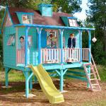 Casitas infantiles de madera para soñar