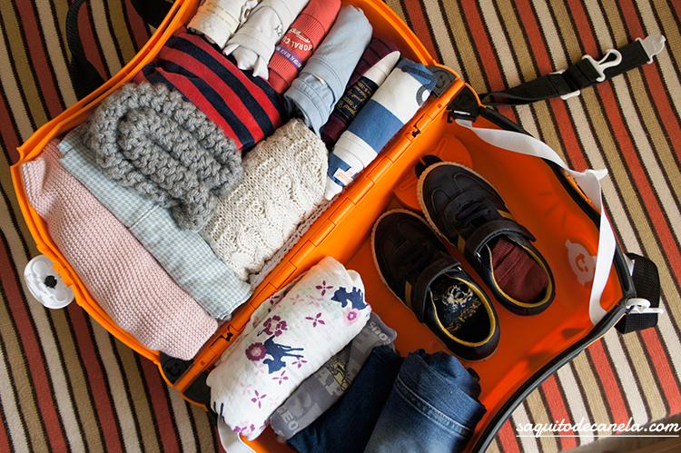 Como hacer una maleta