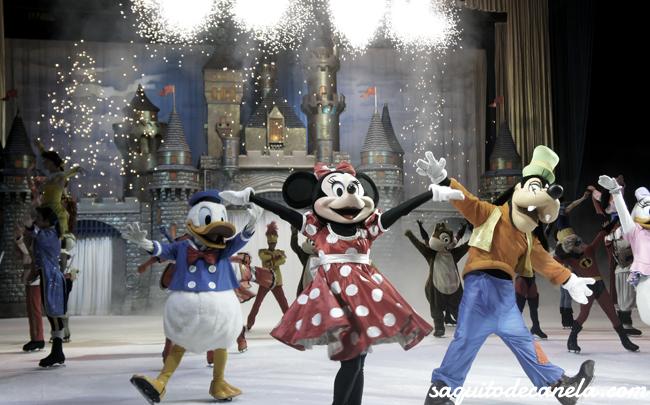 Entradas Disney sobre hielo