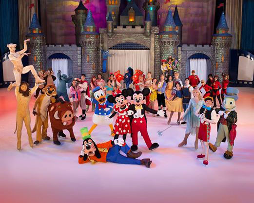 Entradas Disney On Ice Valencia
