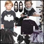El negro es tendencia en moda infantil