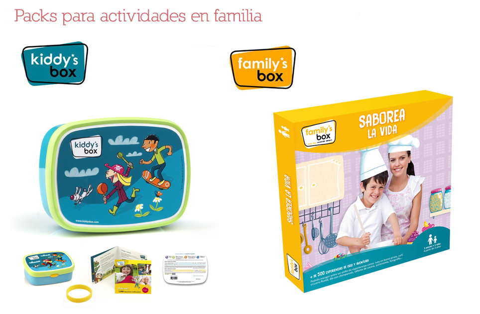 Packs para actividades en familia5
