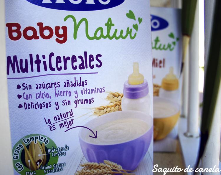 Papillas de cereales Baby Natur