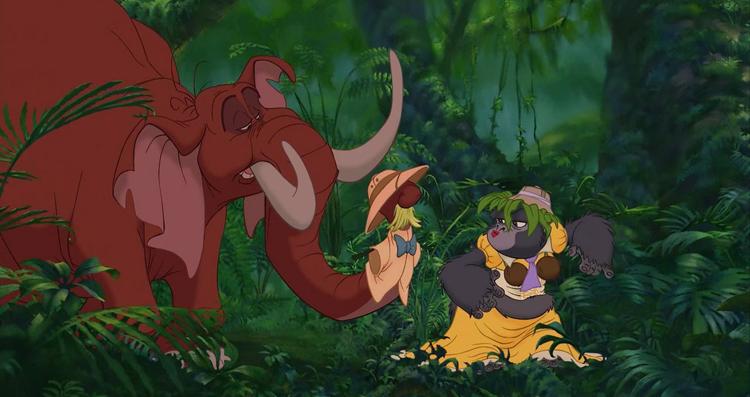 Tarzán clásico 37 de Walt Disney