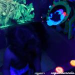 Baño con pintura fluorescente o como pasárselo pipa