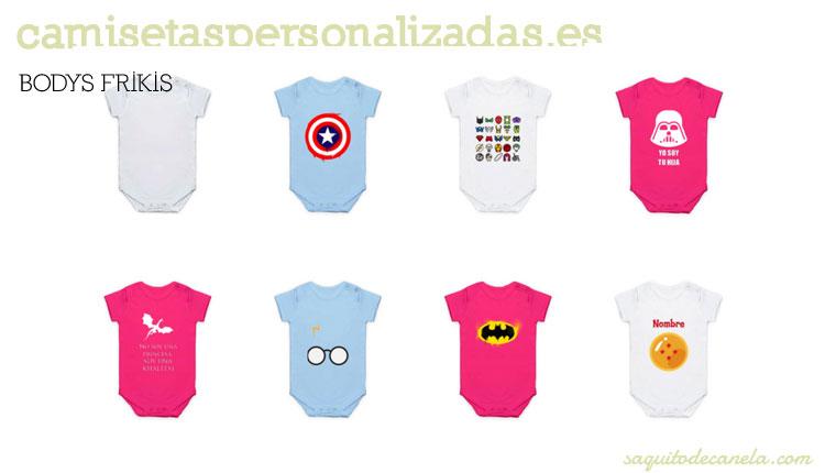 bodys de bebés personalizados