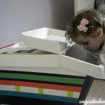 Caja para juguetes DIY