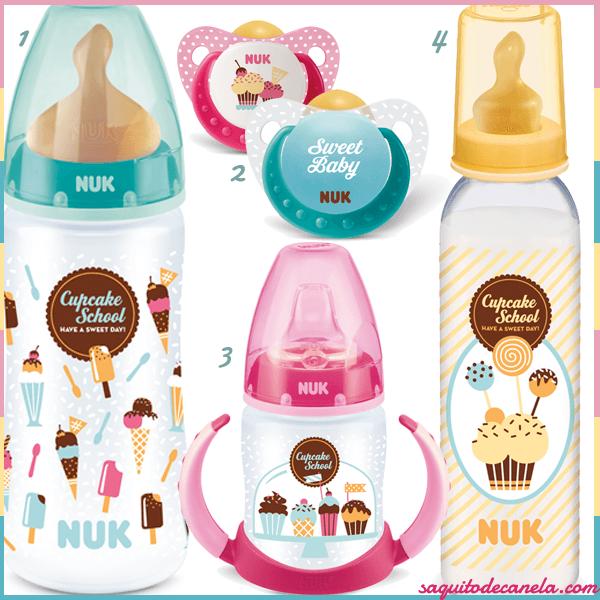 Colección Cupcake Nuk