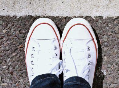lavar converse blancas