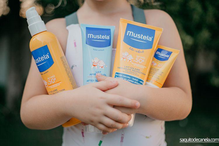 cremas Mustela para el sol