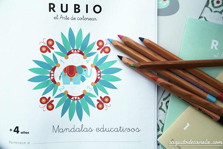 cuadernillos rubios mandalas