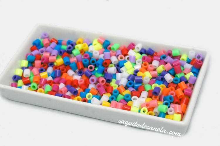 cuentas de plástico para pulseras