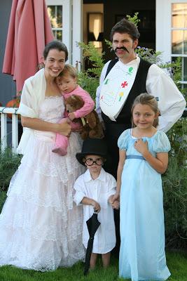 disfraz familia peter pan