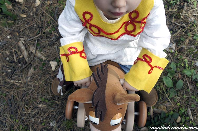Disfraz diy Jessie toy story
