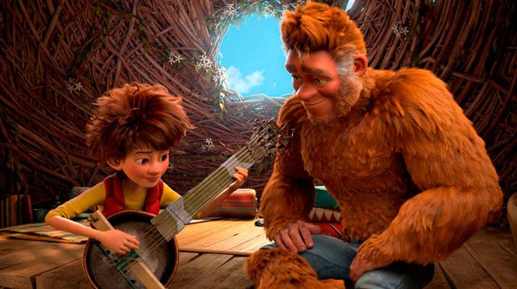 el hijo de bigfoot ya en cines