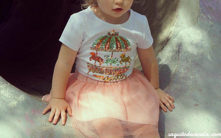 Faldas de tul para niñas