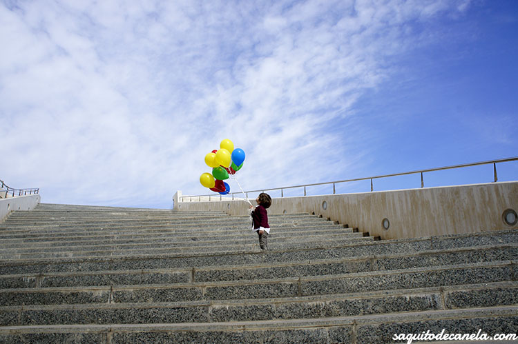 fotos con globos de helio
