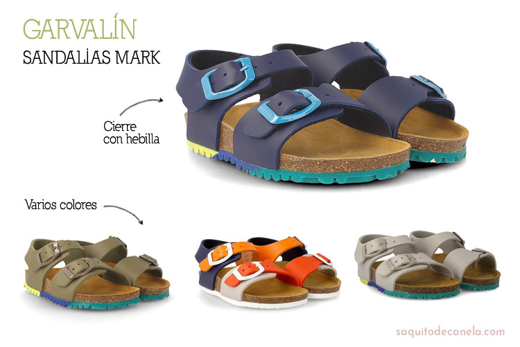 2b0b8d259 Garvalín  calzado infantil para el verano - Saquitodecanela