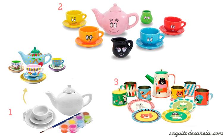 juegos de té para niños