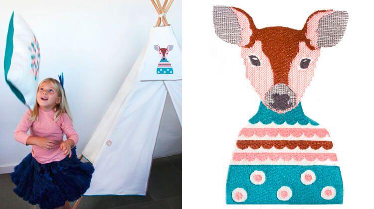 Lali y Bela decoración infantil handmade__