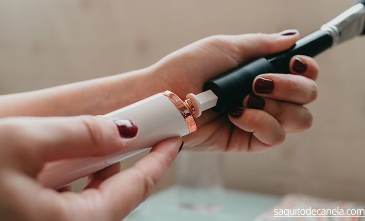 limpia brochas maquillaje