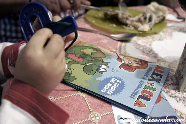 Entretenimiento comida niños