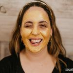 Mascarilla reafirmante Gold Peel Off de Q77+