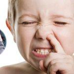 Mi hijo se come los mocos ¡socorro!
