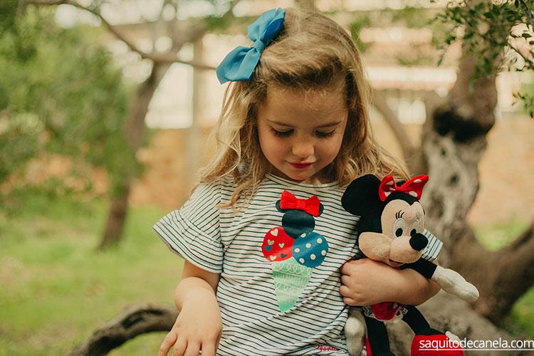 Minni Mouse ropa para niña