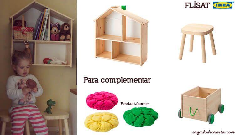 Muebles para niños serie Flisat de Ikea 13