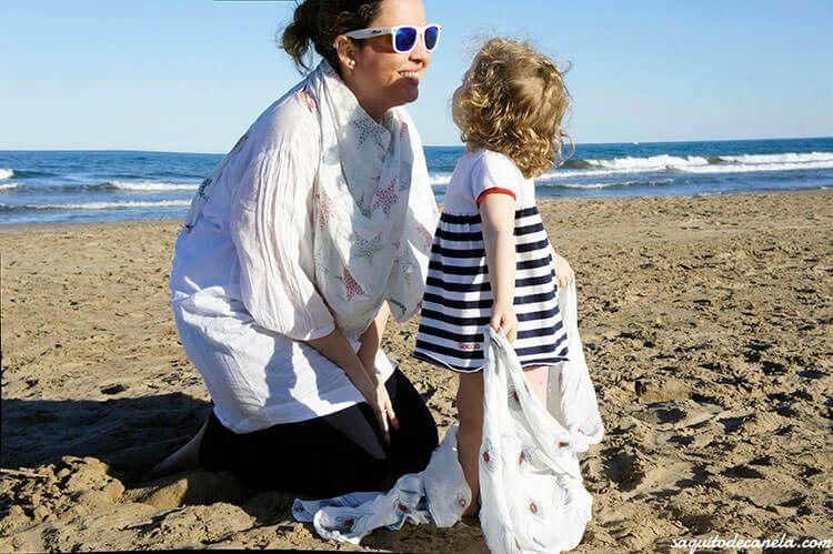 Muselinas aden + anais también para mamás