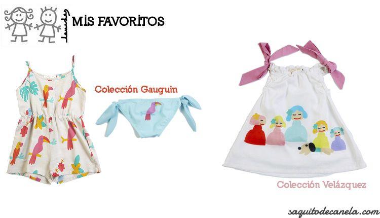Nueva colección primavera verano de Lourdes Kids
