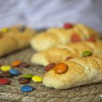 Pan de leche con Lacasitos