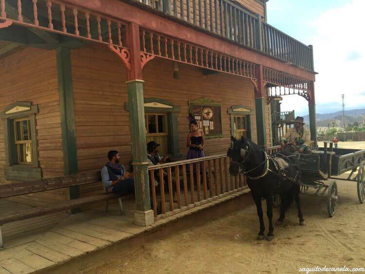 Parque vaqueros almería